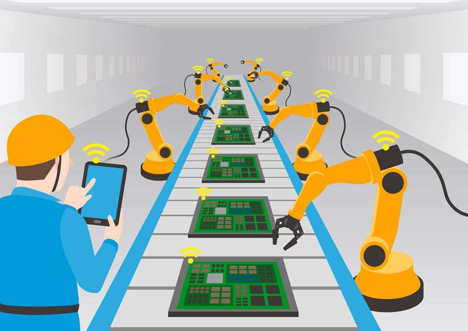 automatizarea sistemului de productie